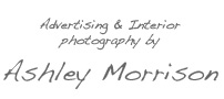 Advertising & Interior photography by Ashley Morrison - an Irish photographer who specialises in advertising & interior photography throughout Europe and beyond.